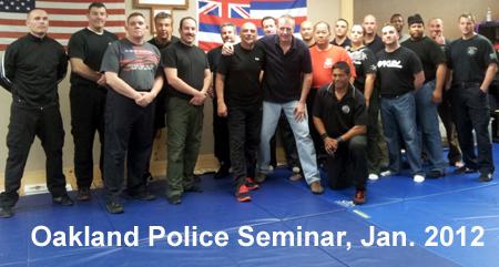 oakland police police judo U.S. SFC Combat Instructors