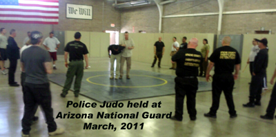 arizona national guard judo training Police Judo