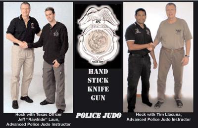 police judo unarmed combat training Police Judo