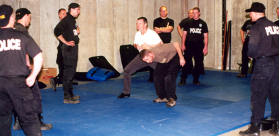 swat training Police Judo