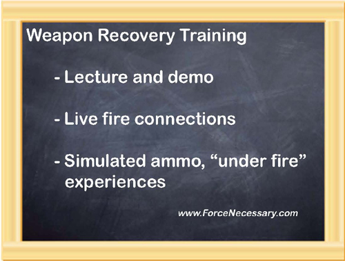Blackboard-weapon series